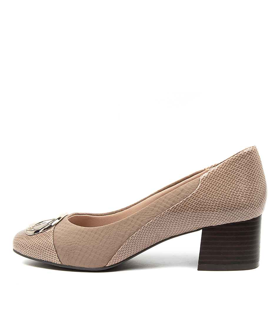 Buy Supersoft Bamboo Su Silver Mink High Heels online with free shipping