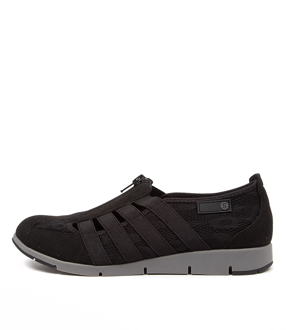 Buy Supersoft Gipsy Su Black Sneakers online with free shipping