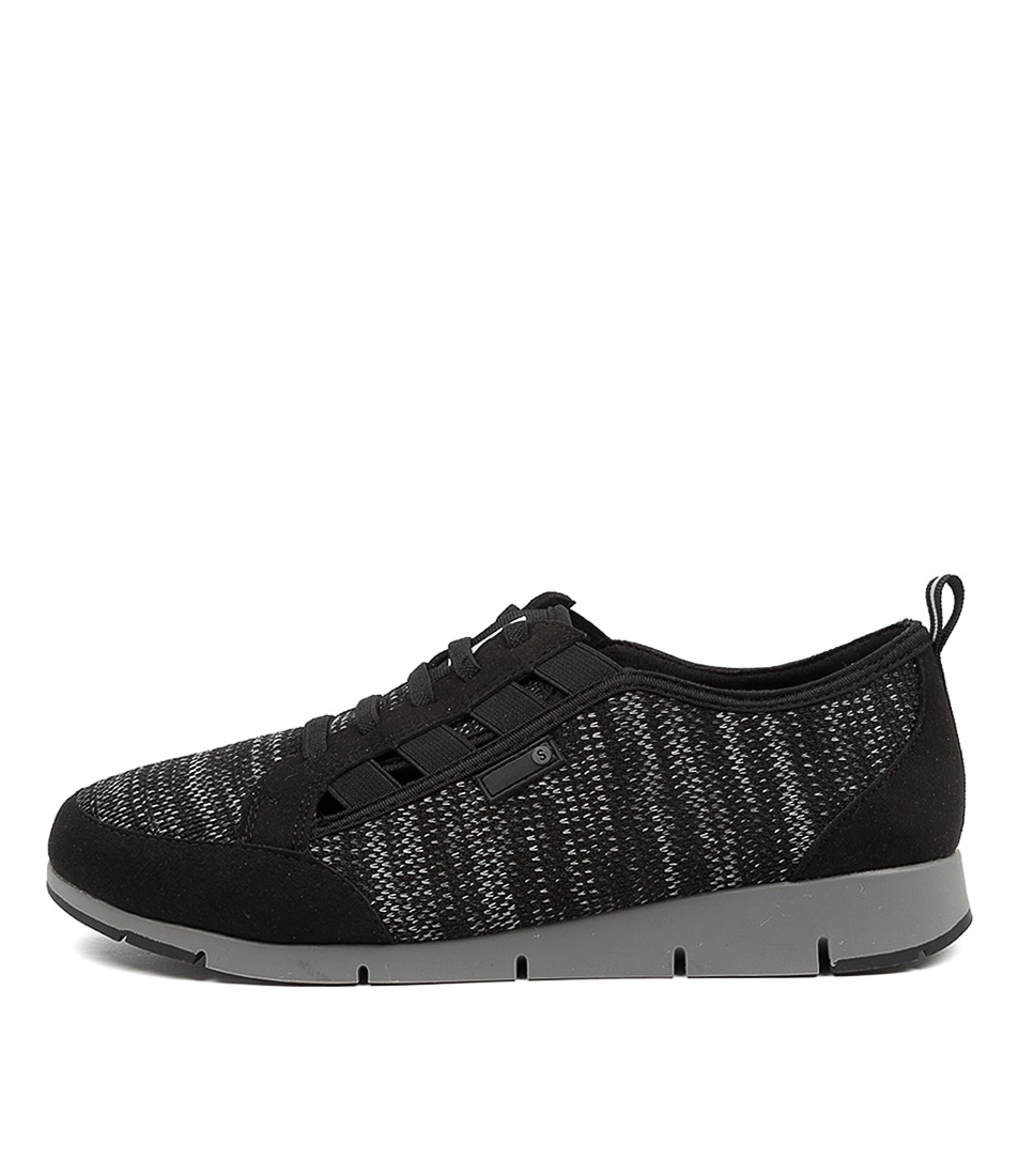 Buy Supersoft Glow Su Black Sneakers online with free shipping