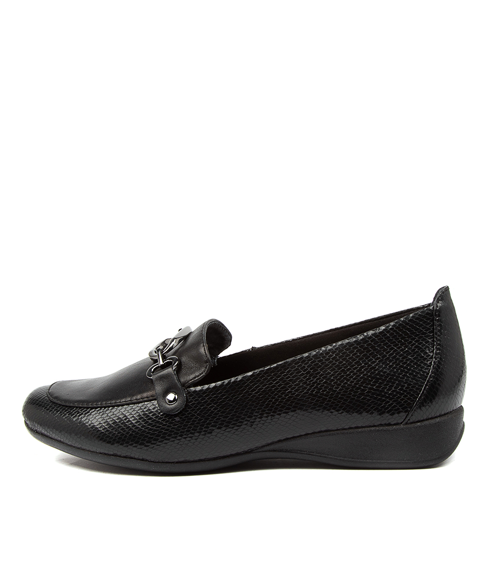 Buy Supersoft Havelock Su Black Flats online with free shipping