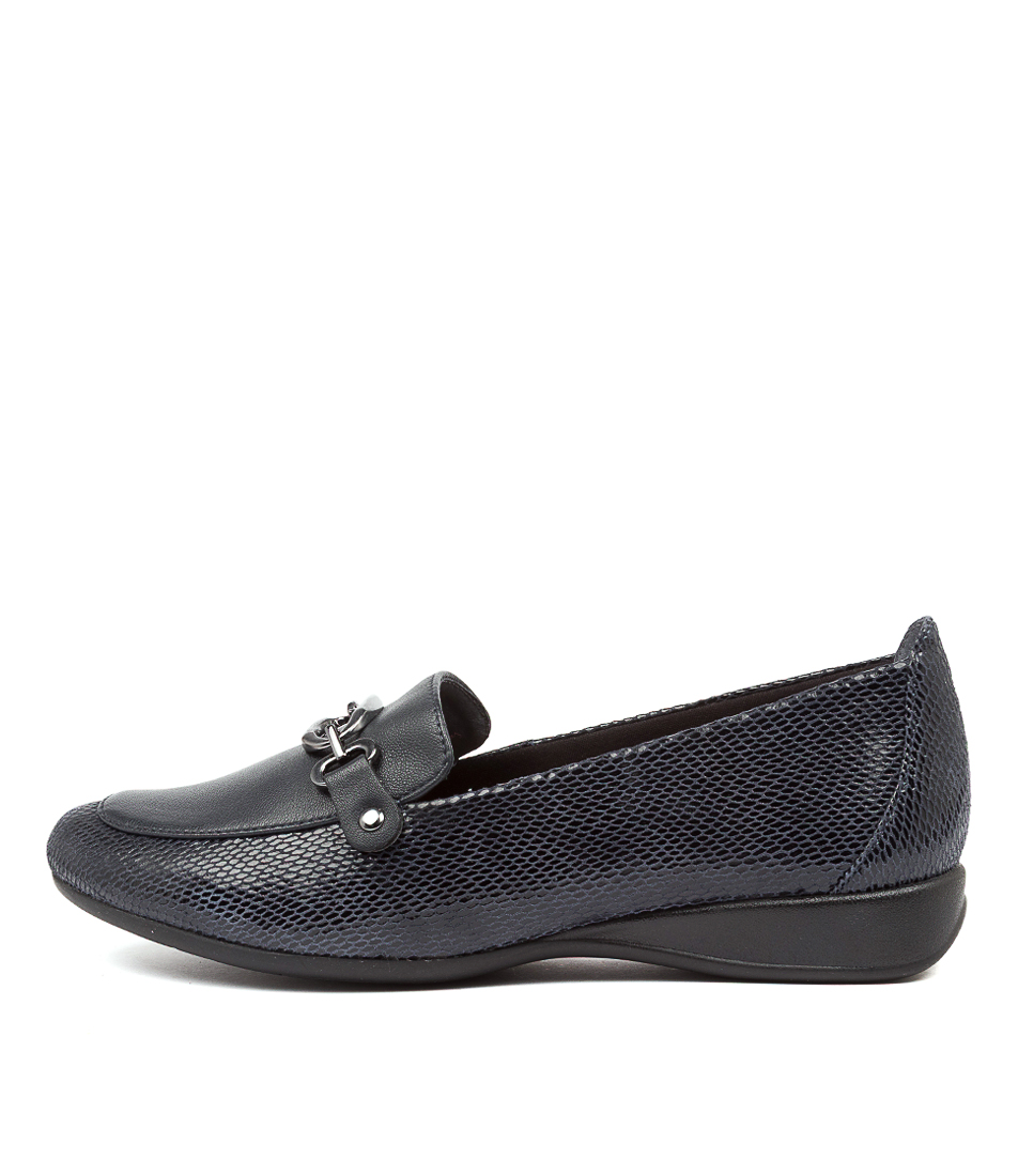 Buy Supersoft Havelock Su Navy Navy Flats online with free shipping