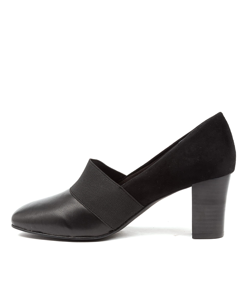 Buy Supersoft Haesel Su Black Heel High Heels online with free shipping