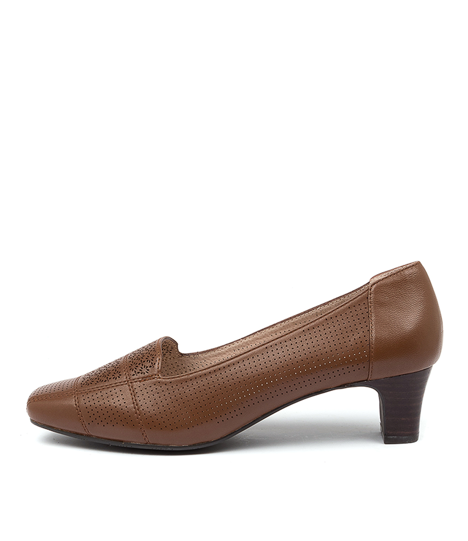 Buy Supersoft Maltese Su Cognac High Heels online with free shipping