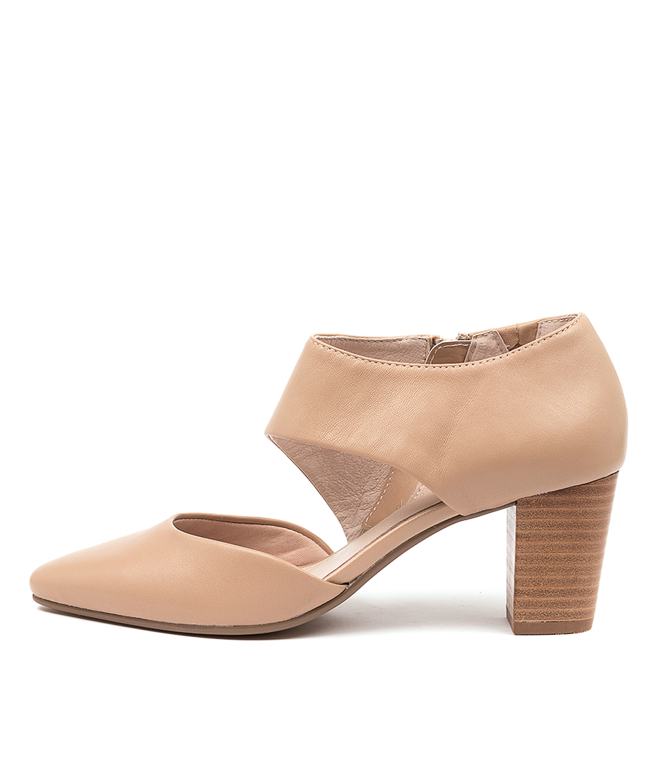 Buy Supersoft Naja Su Nude High Heels online with free shipping