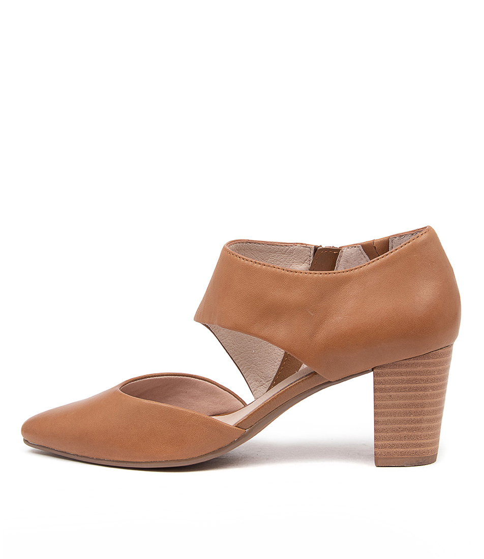 Buy Supersoft Naja Su Mid Tan High Heels online with free shipping