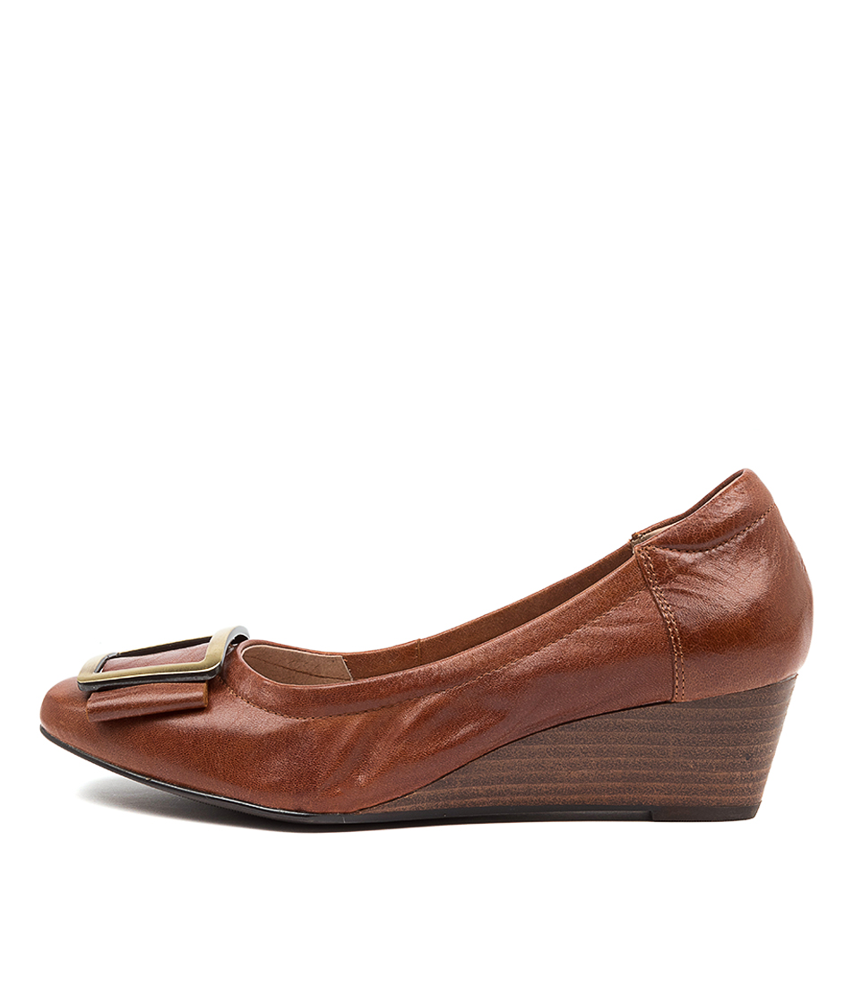 Buy Supersoft Sandy Su Cognac High Heels online with free shipping