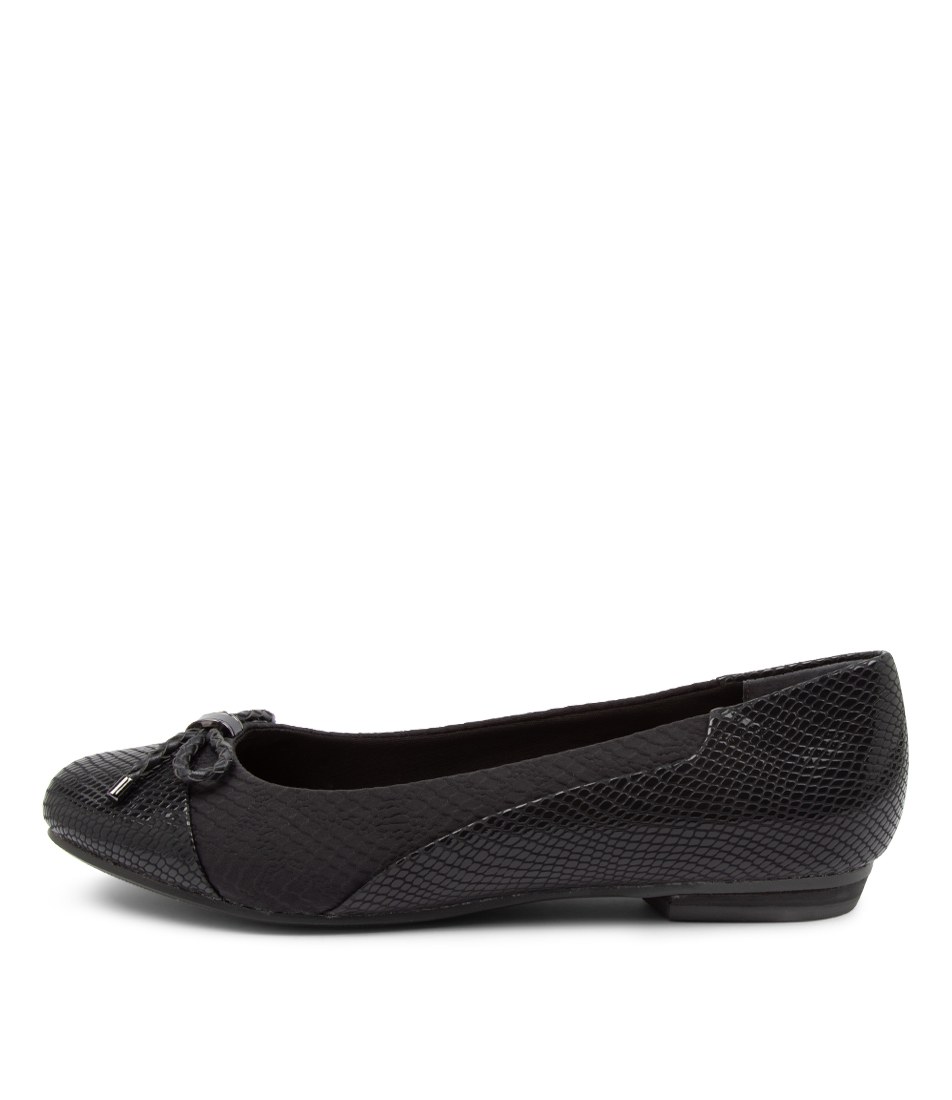 Buy Supersoft Cosmos Su Navy Flats online with free shipping