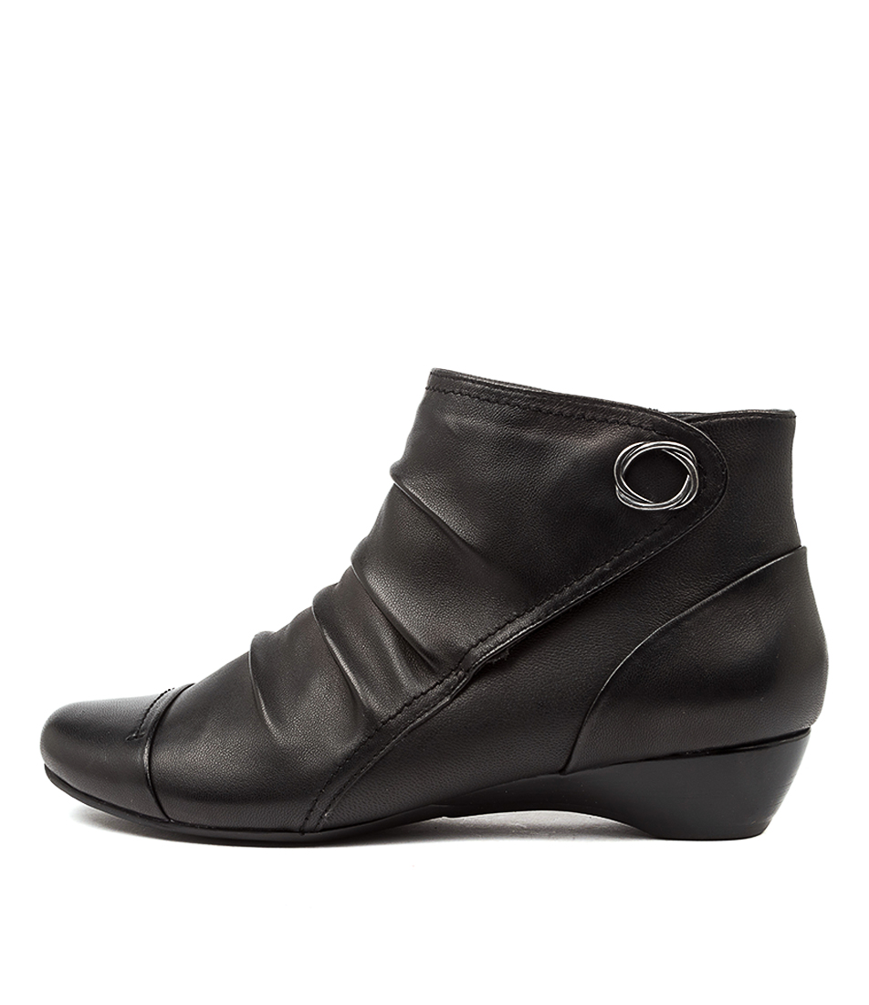 Buy Supersoft Dixie Su Black Ankle Boots online with free shipping