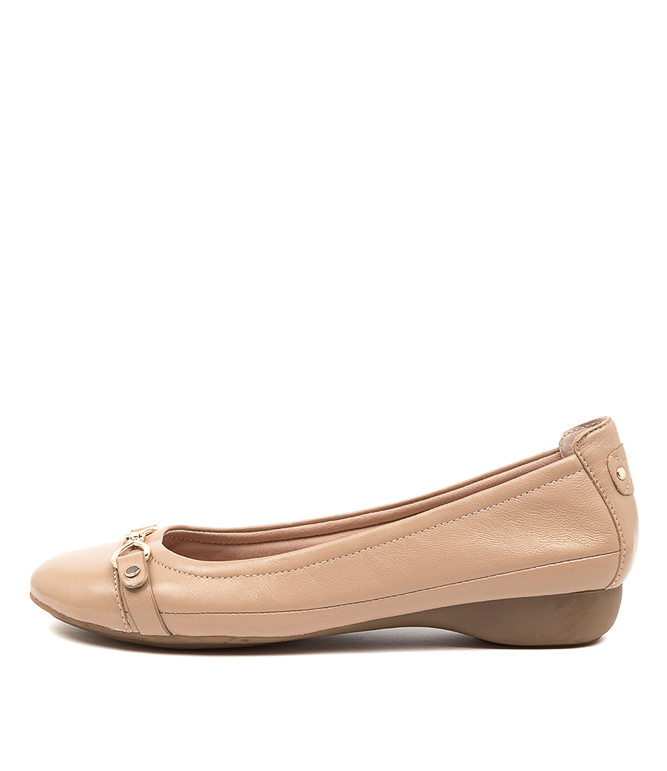 Buy Supersoft Eureka Su Nude Flats online with free shipping