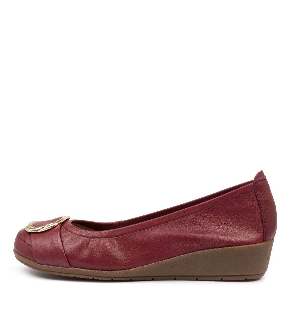 Buy Supersoft Frolic Su Bordeaux High Heels online with free shipping
