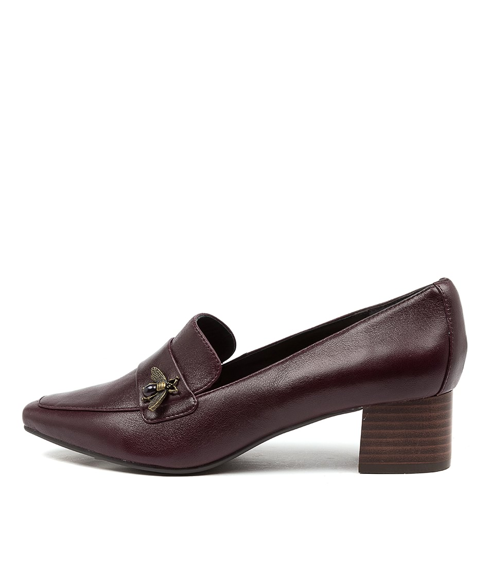Buy Supersoft Kalkee Su Bordo High Heels online with free shipping