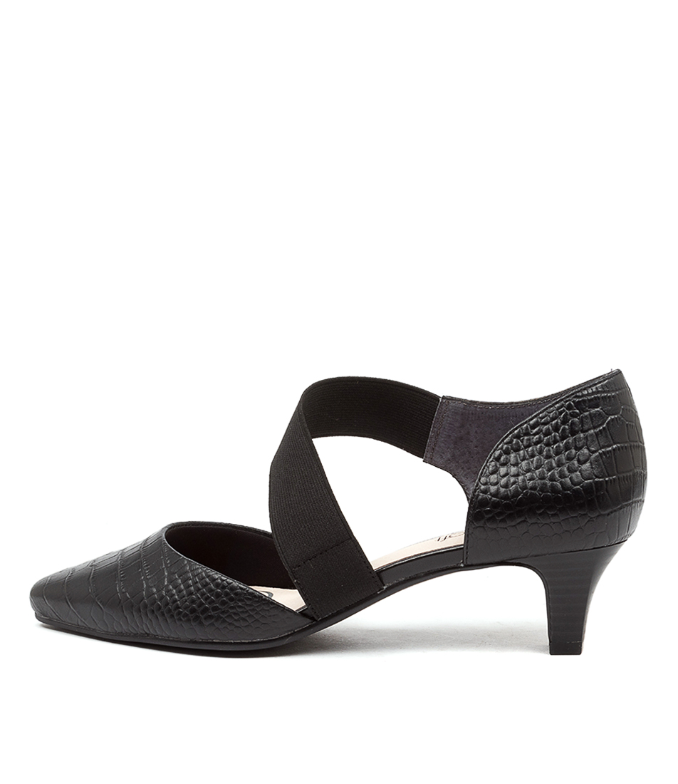 Buy Supersoft Lennon Su Black High Heels online with free shipping