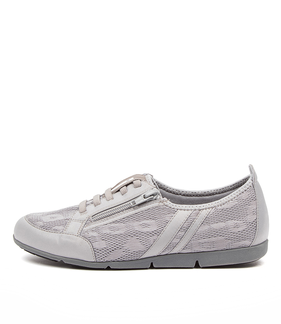 Buy Supersoft Satisfy Su Grey Silver Sneakers online with free shipping