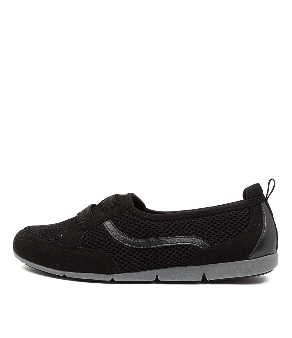 Buy Supersoft Spring Su Black Sneakers online with free shipping