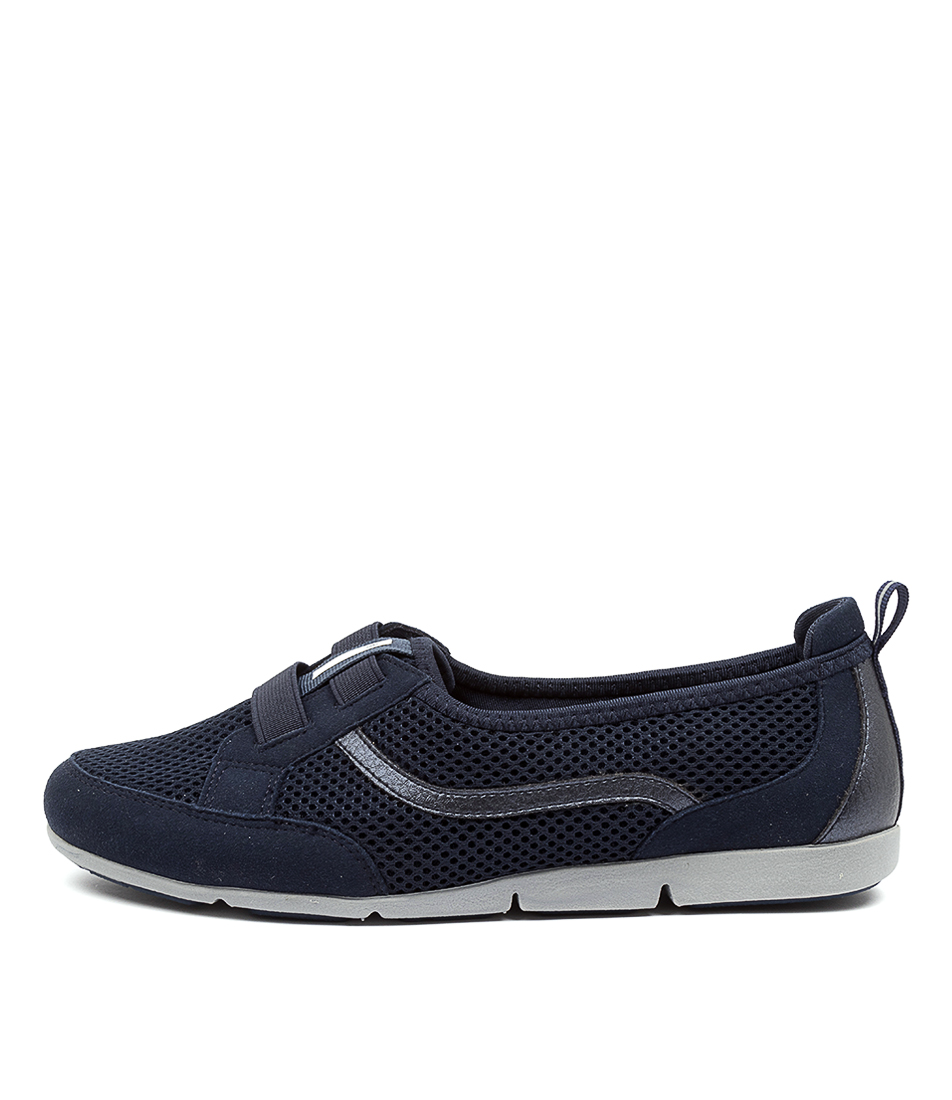 Buy Supersoft Spring Su Navy Sneakers online with free shipping