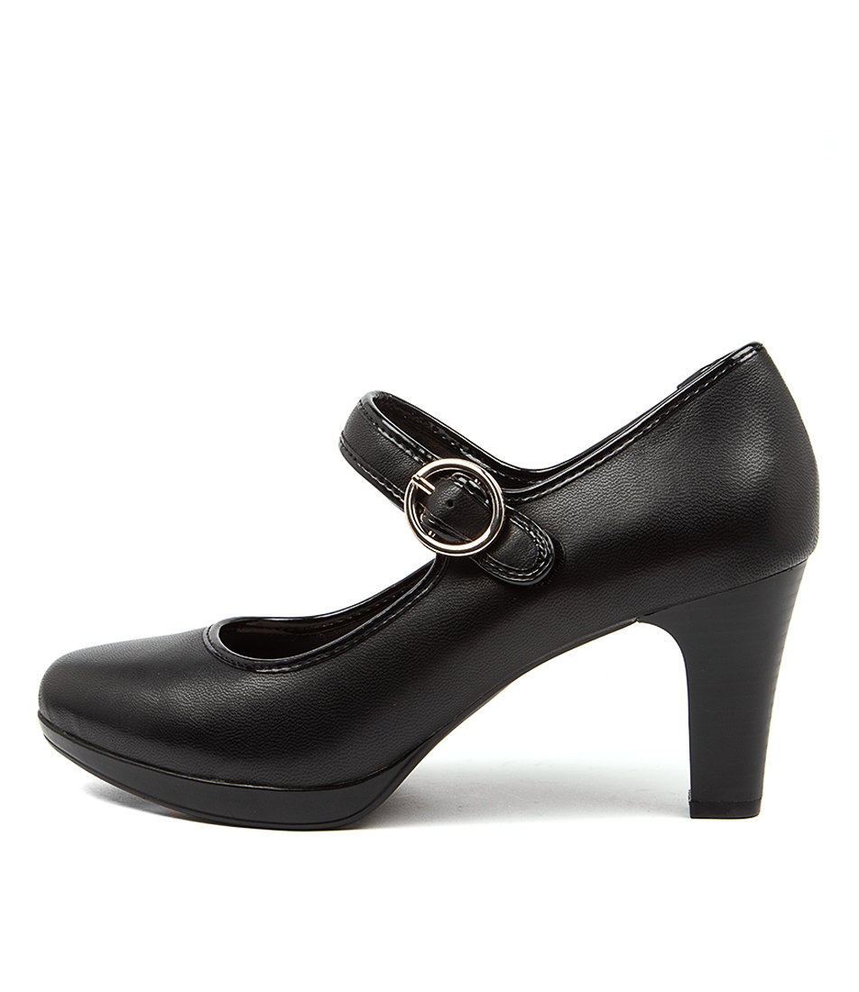Buy Supersoft Shady Su Black High Heels online with free shipping