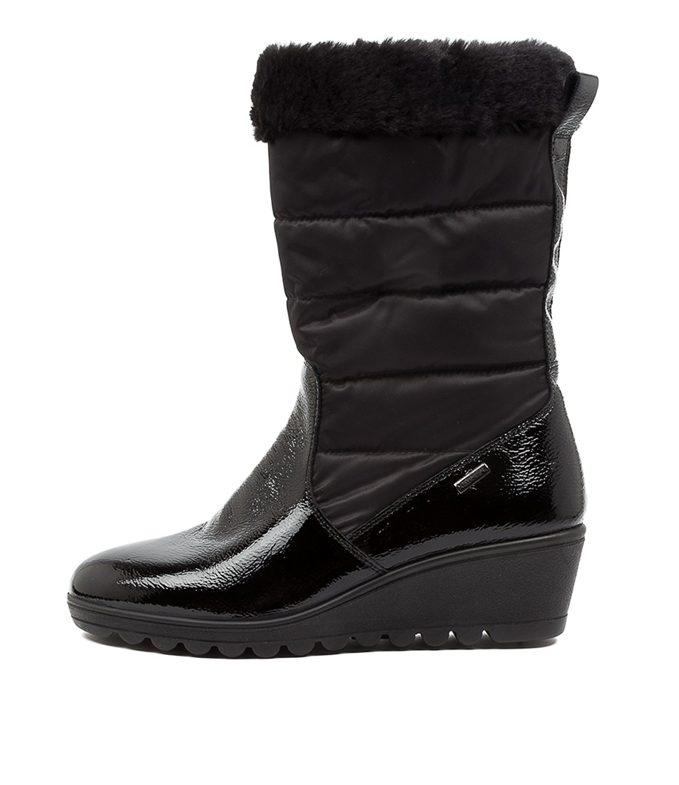 Buy Supersoft Rhuma Su Black Ankle Boots online with free shipping