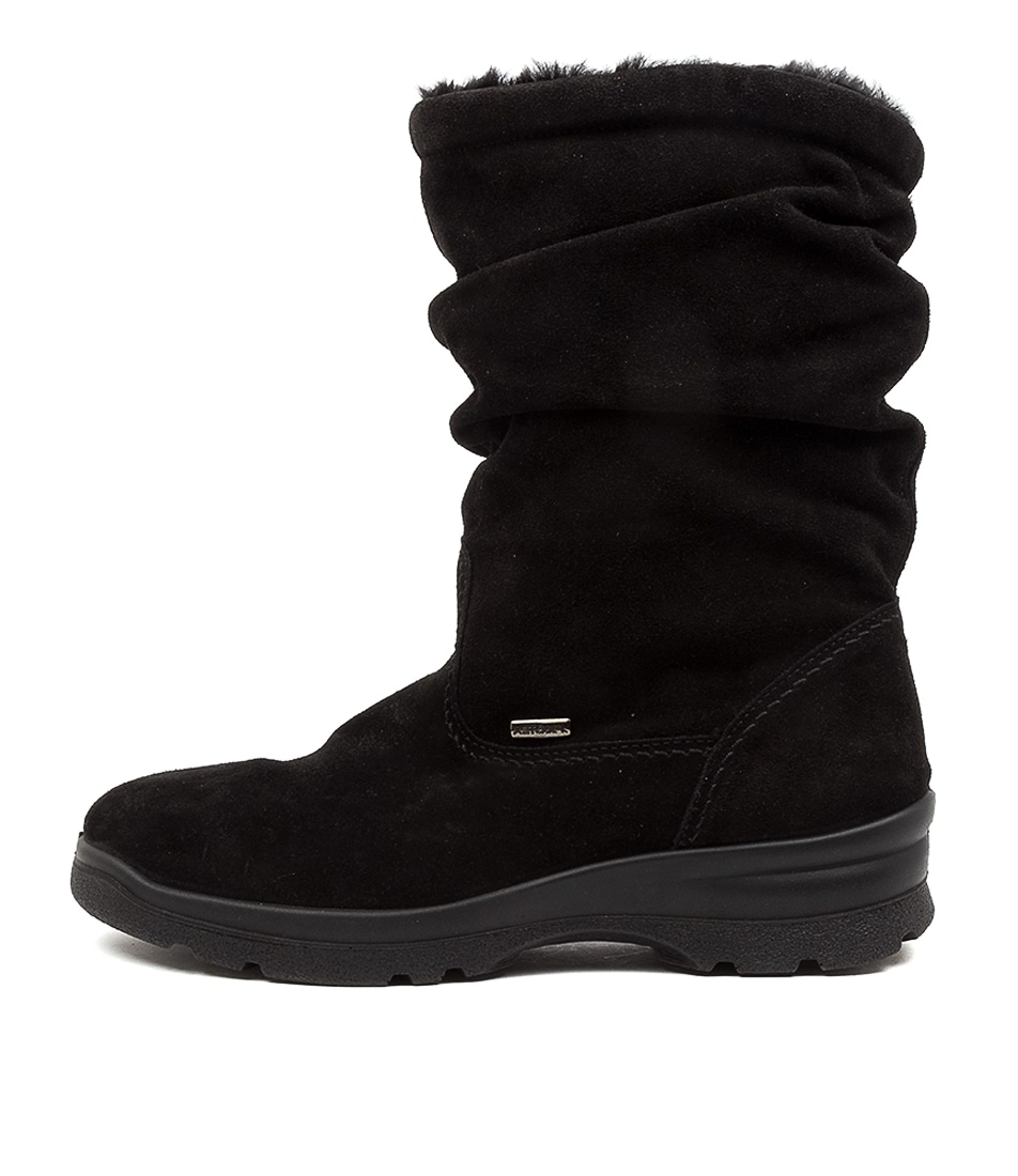 Buy Supersoft Perfecta Su Black Ankle Boots online with free shipping