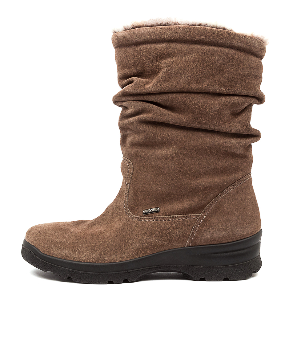 Buy Supersoft Perfecta Su Taupe Taupe Ankle Boots online with free shipping