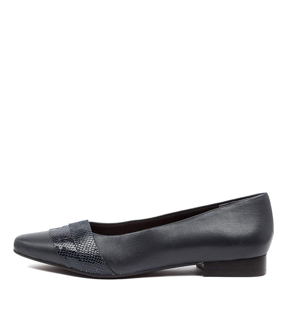 Buy Supersoft Latifah Su Navy Flats online with free shipping