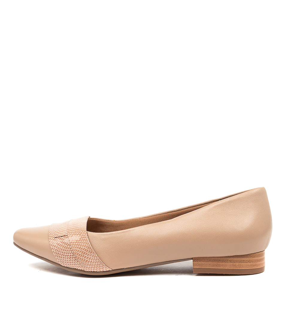 Buy Supersoft Latifah Su Nude Flats online with free shipping
