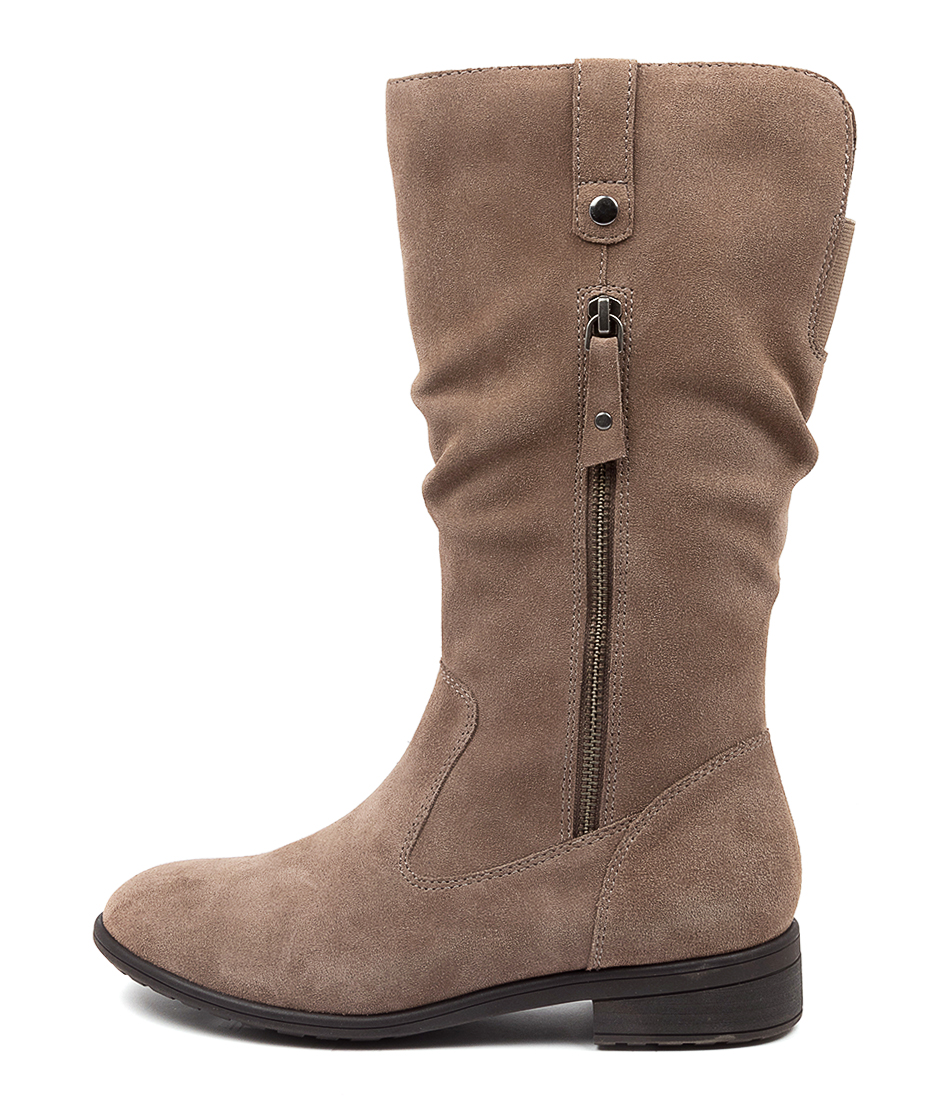 Buy Supersoft Ezra Su Taupe Calf Boots online with free shipping