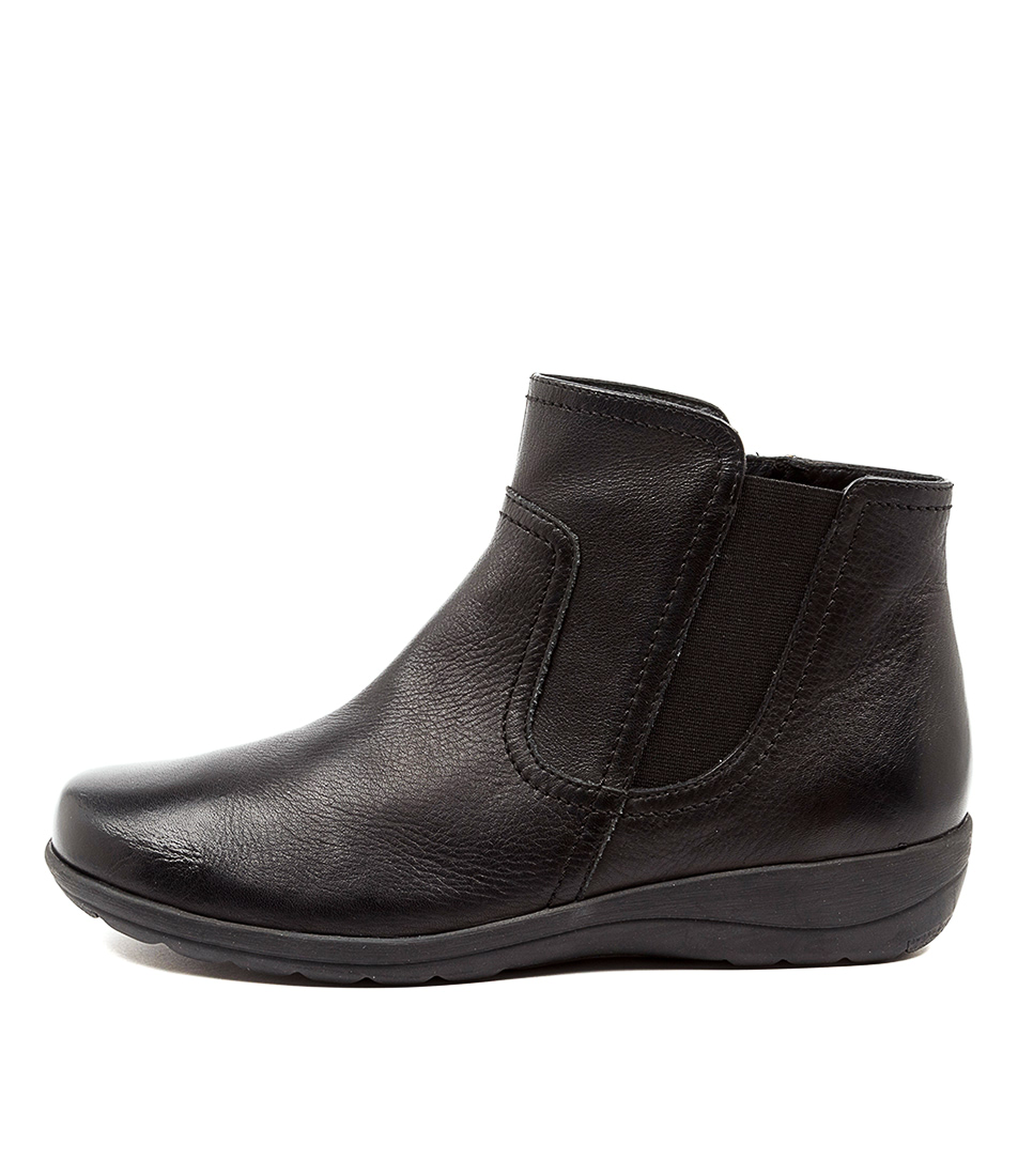 Buy Supersoft Dunk Su Black Ankle Boots online with free shipping