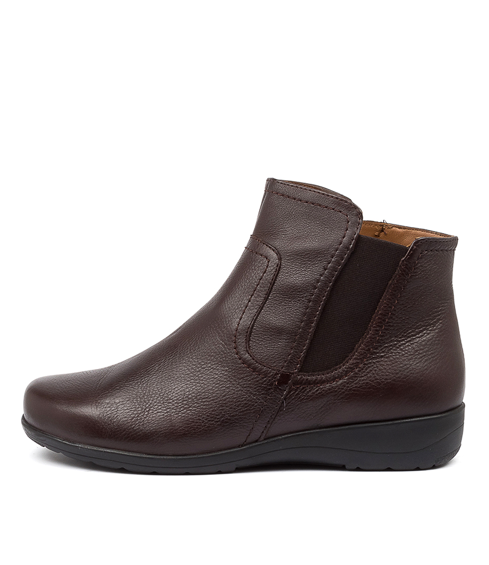Buy Supersoft Dunk Su Brown Ankle Boots online with free shipping