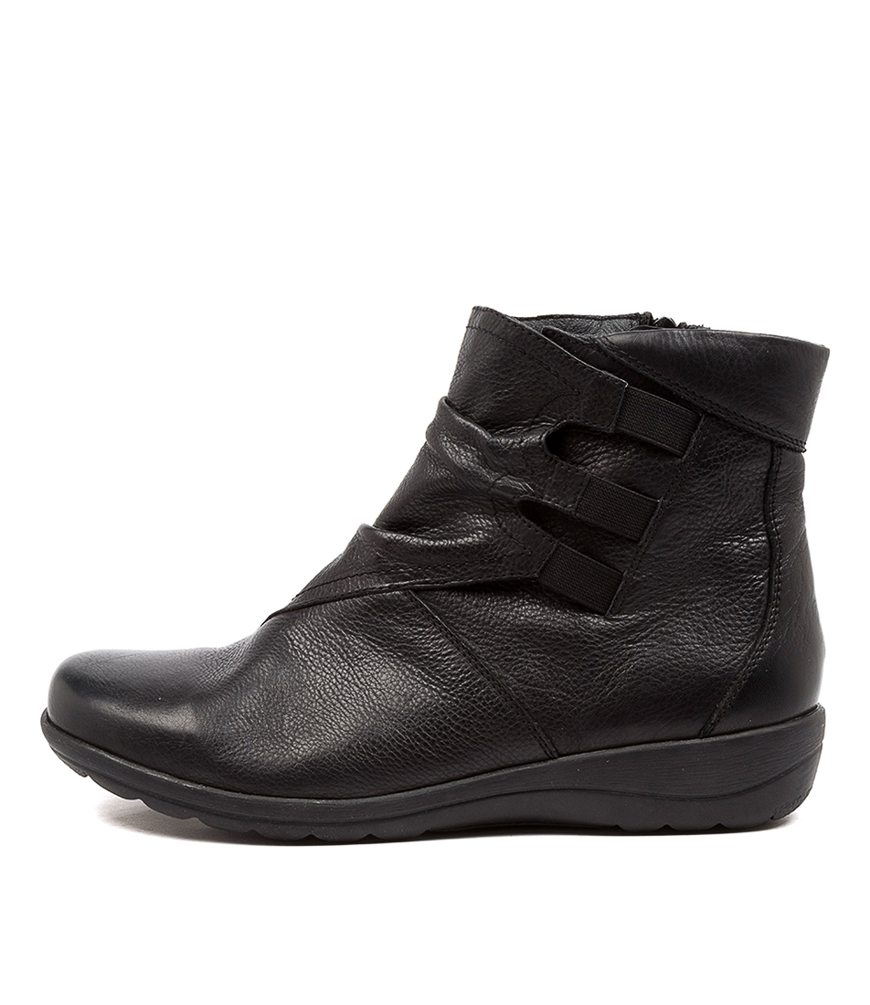Buy Supersoft Denver Su Black Ankle Boots online with free shipping