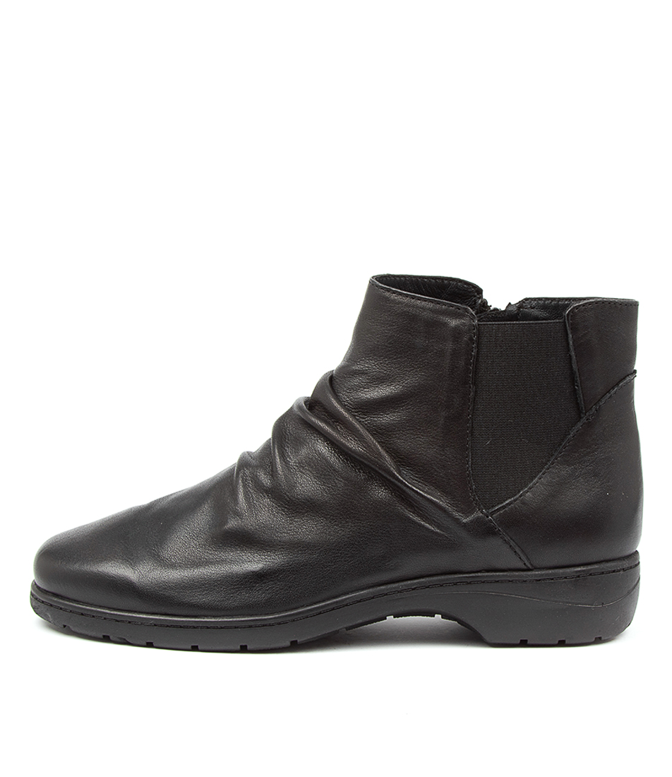 Buy Supersoft Janka Su Black Ankle Boots online with free shipping
