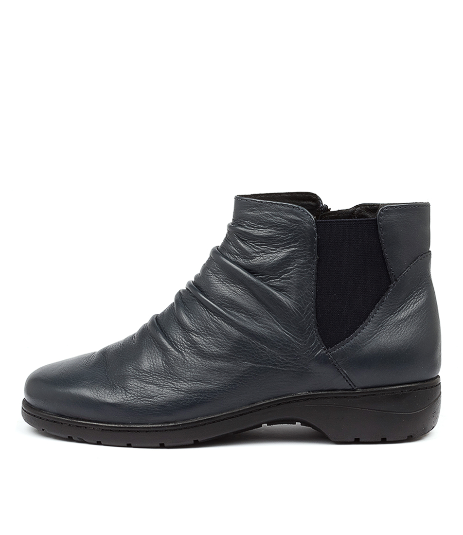 Buy Supersoft Janka Su Navy Ankle Boots online with free shipping