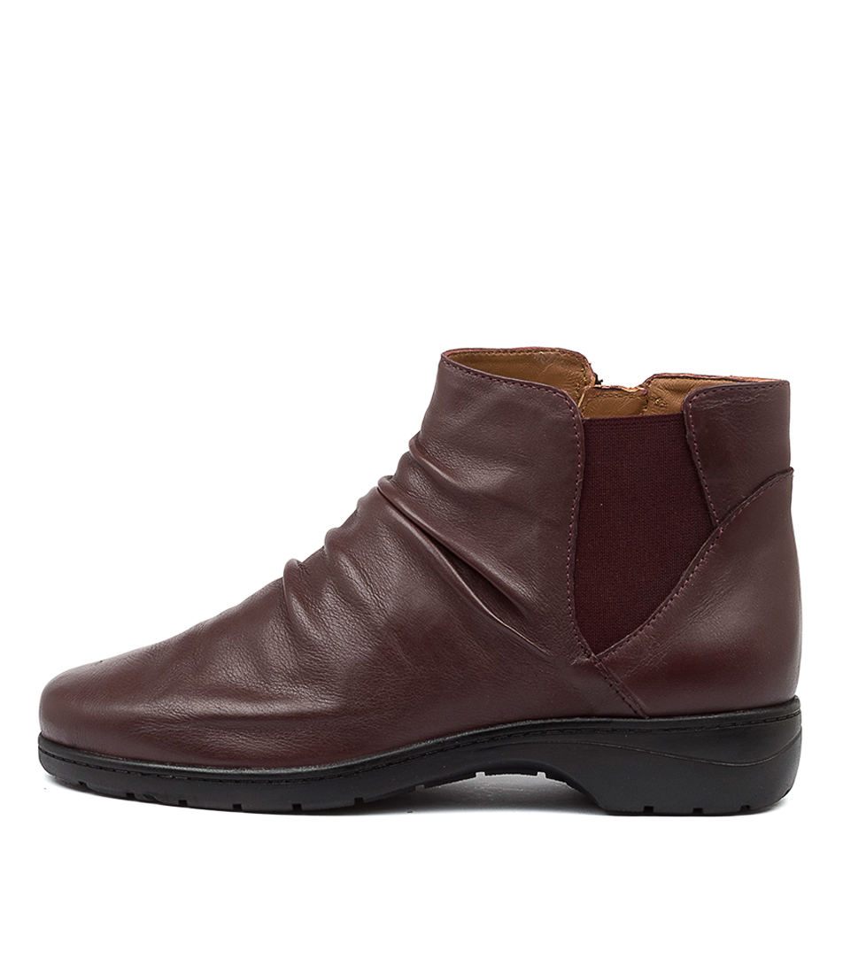 Buy Supersoft Janka Su Wine Ankle Boots online with free shipping
