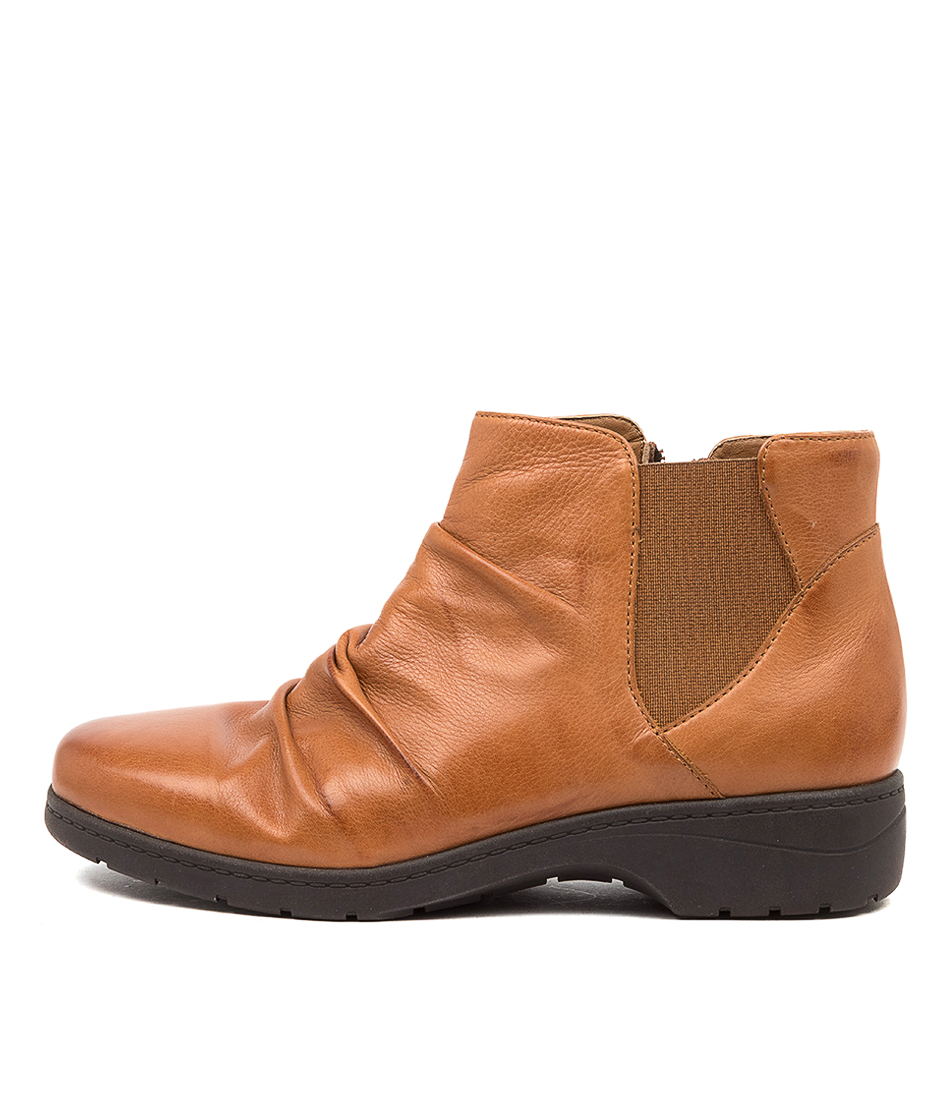 Buy Supersoft Janka Su Dk Tan Ankle Boots online with free shipping