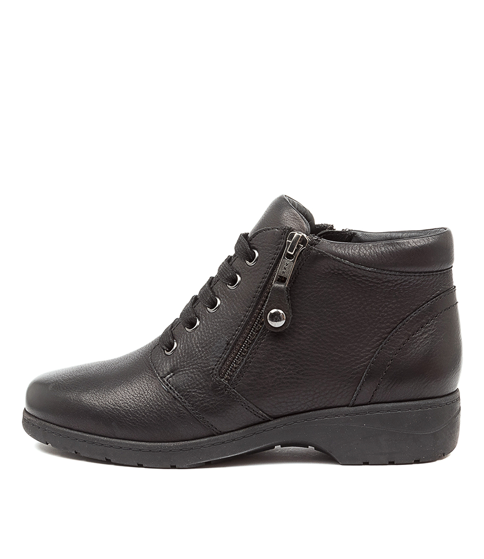 Buy Supersoft Joan Su Black Ankle Boots online with free shipping