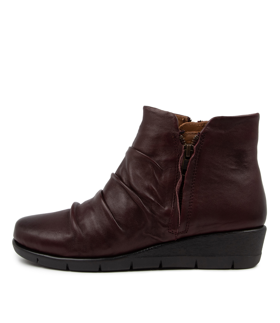 Buy Supersoft Maxie Su Bordo Ankle Boots online with free shipping