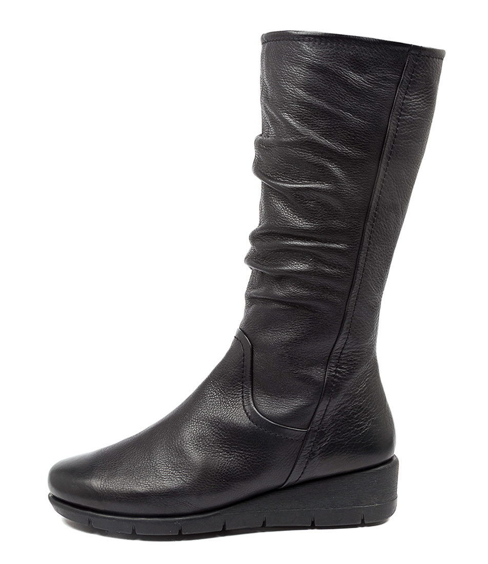 Buy Supersoft Millan Su Black Calf Boots online with free shipping