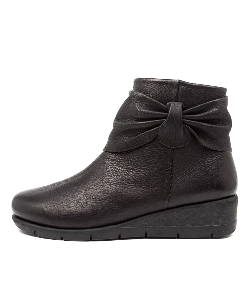 Buy Supersoft Monet Su Black Ankle Boots online with free shipping