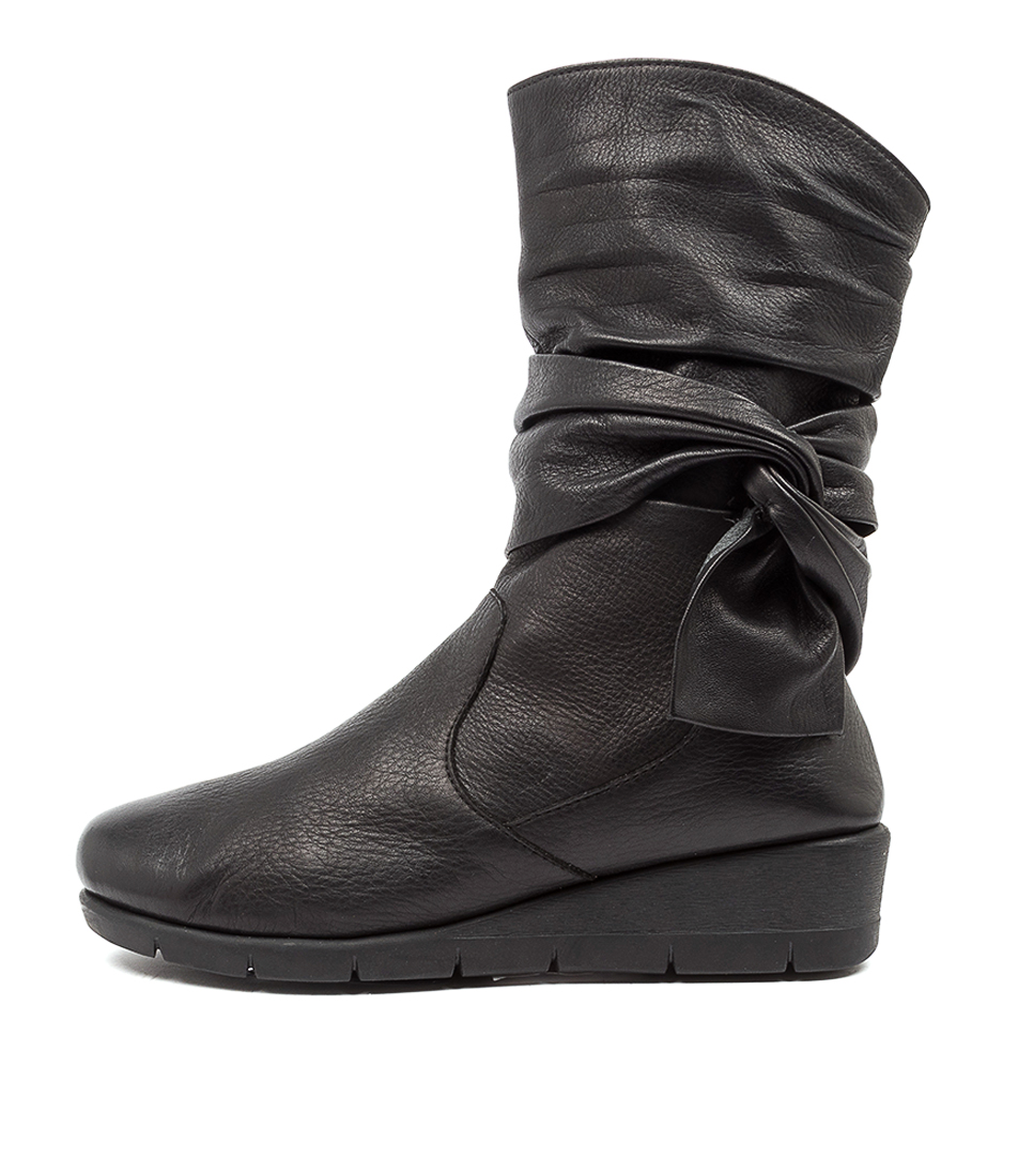 Buy Supersoft Mumbo Su Black Ankle Boots online with free shipping