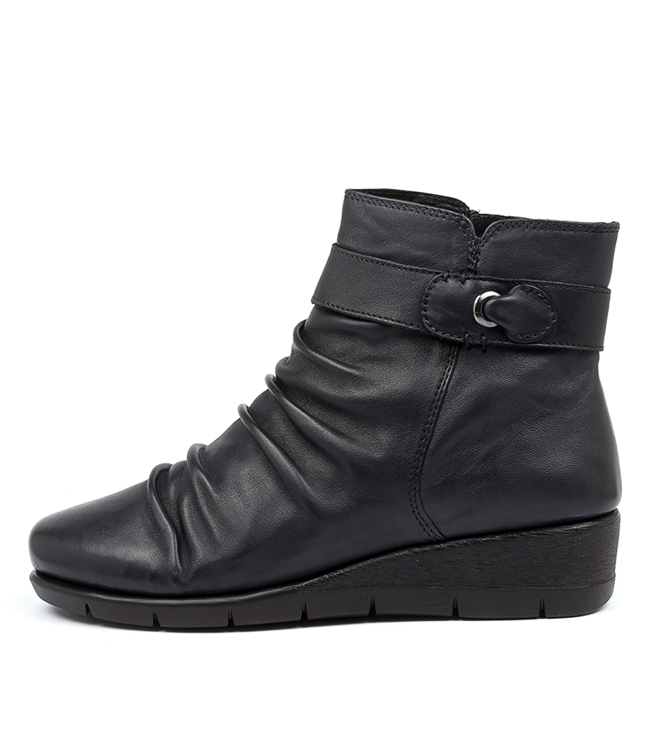 Buy Supersoft Mockridge Su Navy Ankle Boots online with free shipping