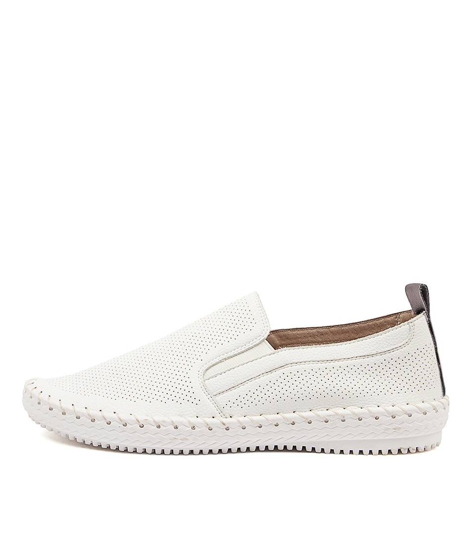 Buy Supersoft Wisteria Su White White Sole Flats online with free shipping