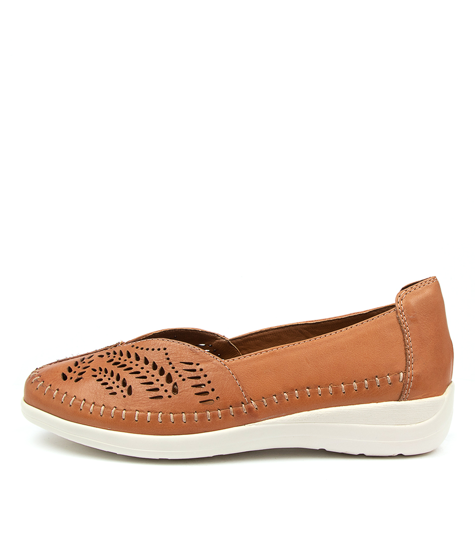 Buy Supersoft Brumby Su Tan Flats online with free shipping
