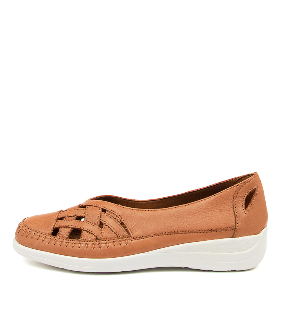 Buy Supersoft Bruin Su Khaki Flats online with free shipping