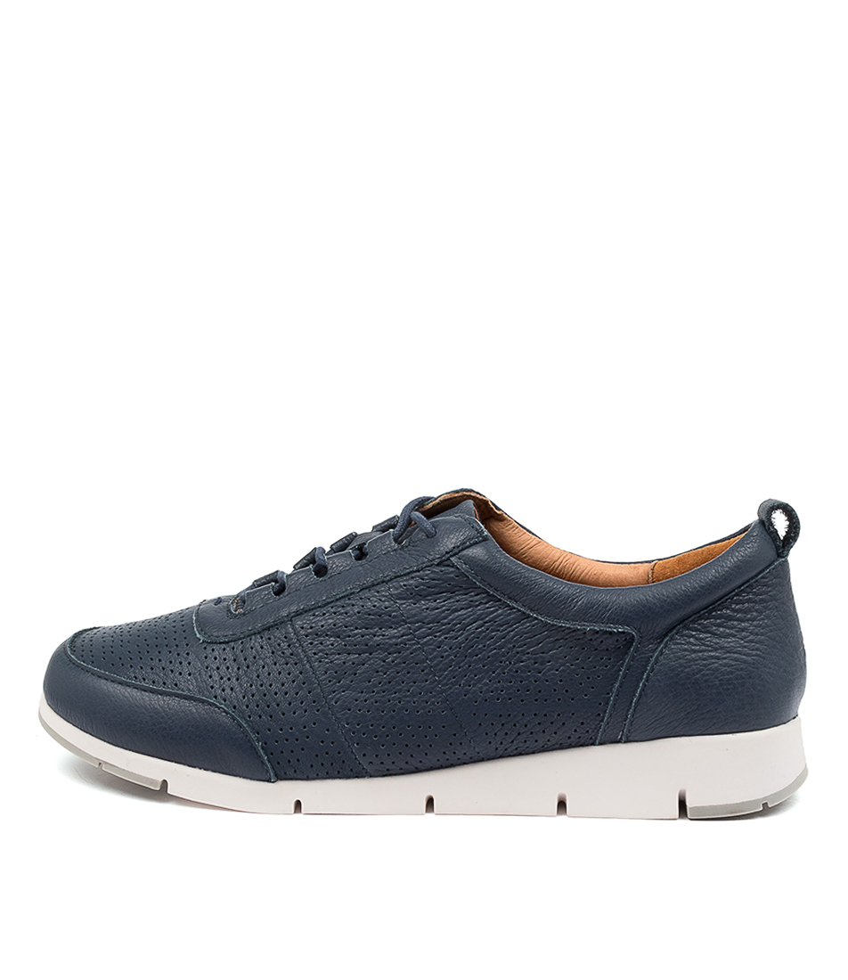 Buy Supersoft Gordon Su Navy White Sole Sneakers online with free shipping