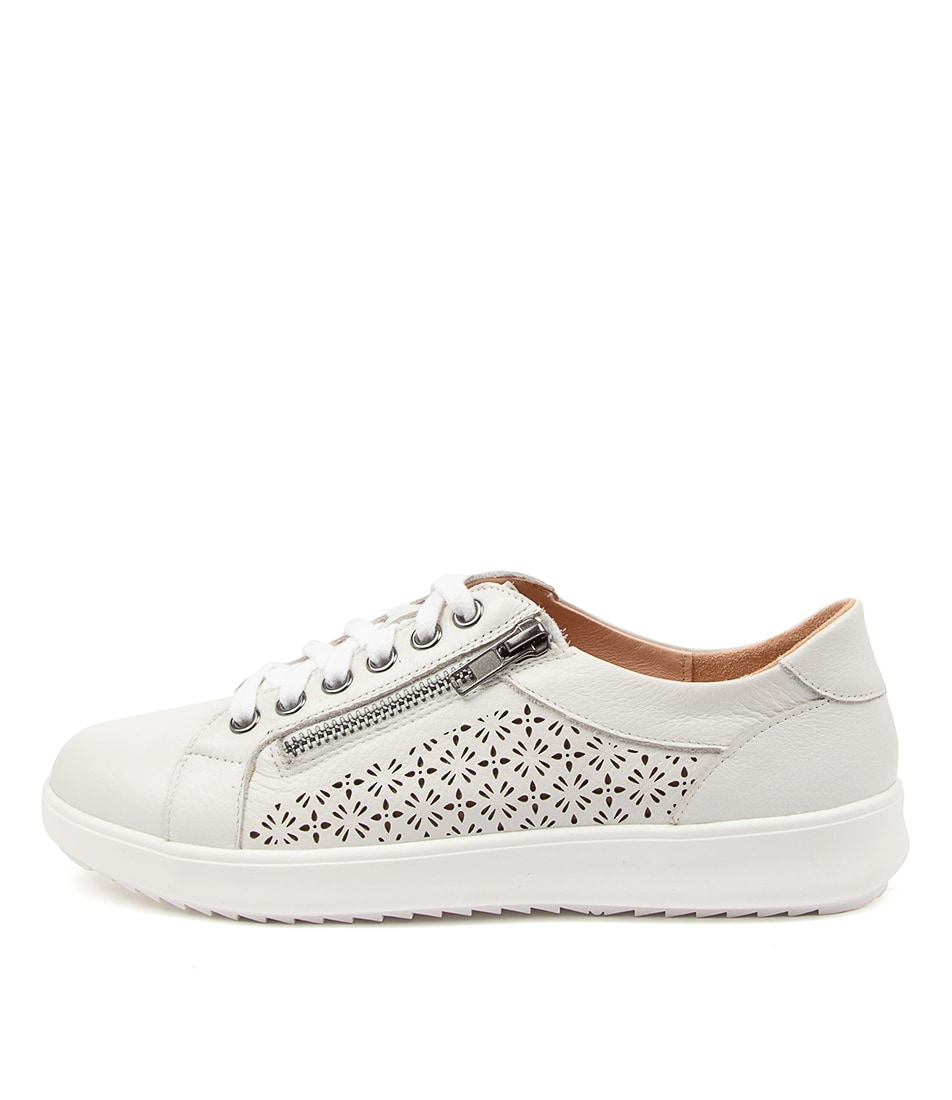Buy Supersoft Zarina Su White White Sole Sneakers online with free shipping