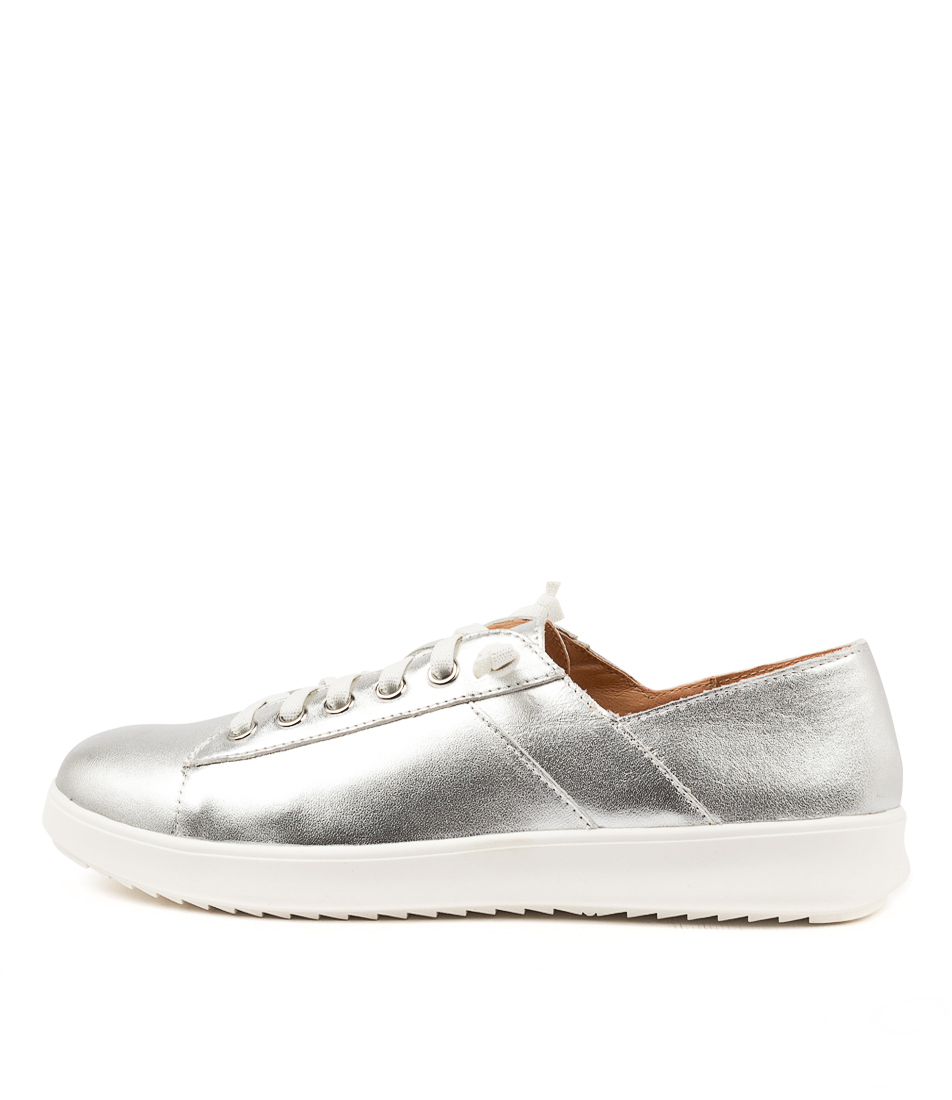 Buy Supersoft Zaylah Su Silver White Sole Sneakers online with free shipping