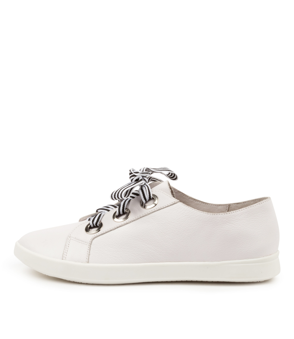 Buy Supersoft Augustin Su White Sneakers online with free shipping