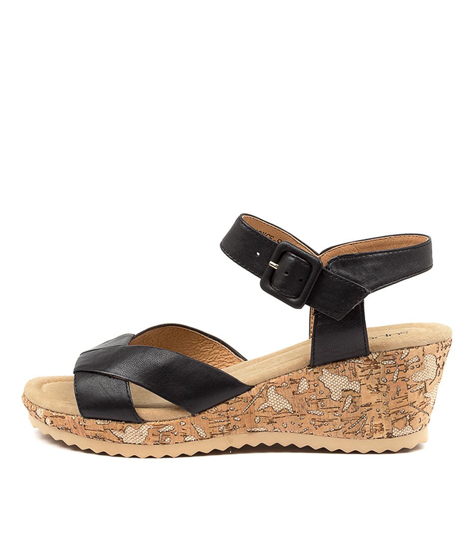 Buy Supersoft Boyce Su Navy Heeled Sandals online with free shipping
