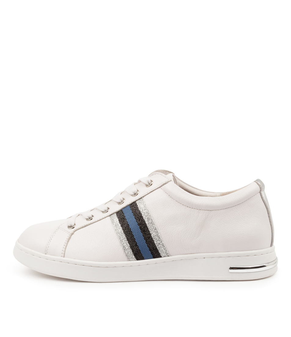 Buy Supersoft Charity Su White Silver Multi Sneakers online with free shipping