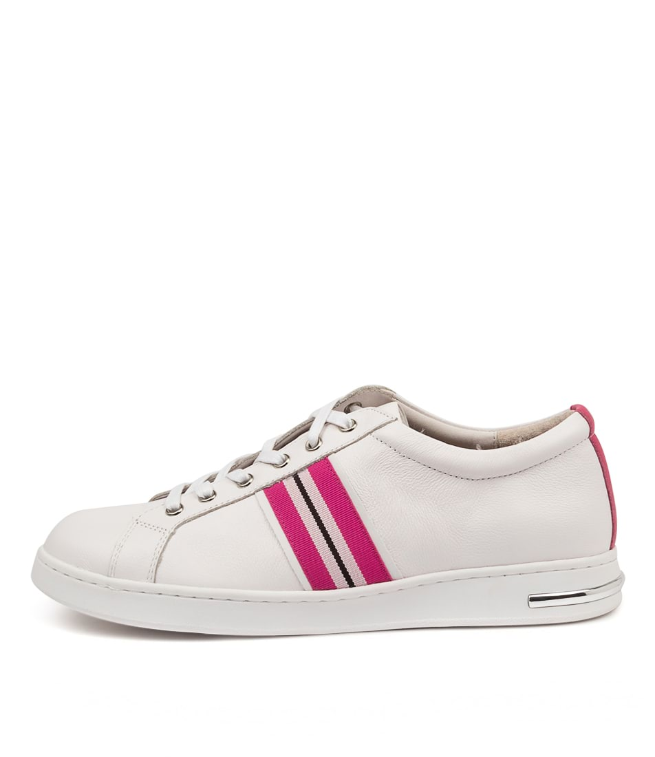 Buy Supersoft Charity Su White Fuchsia Multi Sneakers online with free shipping