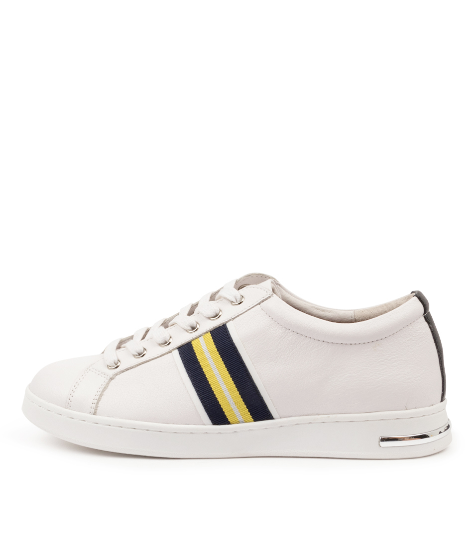 Buy Supersoft Charity Su White Navy Multi Sneakers online with free shipping